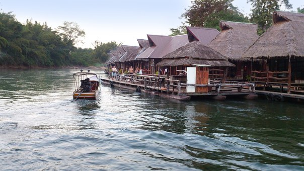 Thailand, River, South-east Asia