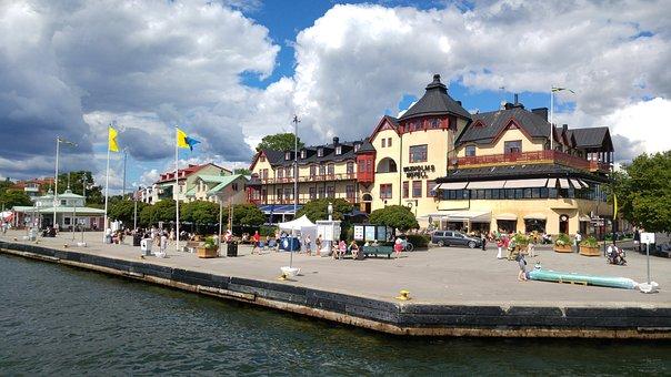 Vaxholm, Stockholm, Vaxholms Hotels, Archipelago