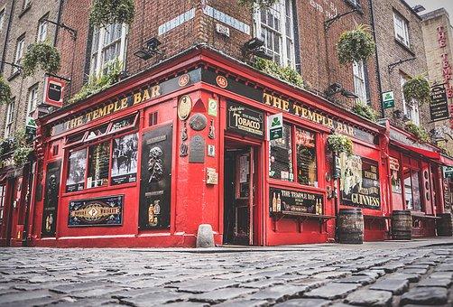 Pub, Ireland, Temple Bar, Traditional, Tourist, Tourism