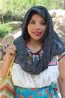 Women, Mexico, Poverty, Chatina, Traditional Clothes
