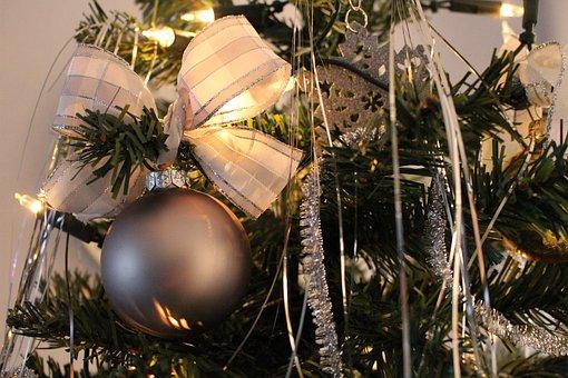 Christmas, Tree, Tree Decorations, Christmas Time