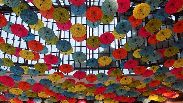 Umbrella, Decor, Color, Design