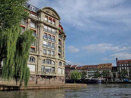 Strasbourg, Eu, Alsace, Water Channel, Old Town