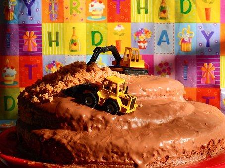 Cake, Birthday, Pastries, Bake, Celebration, Delicious