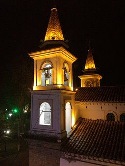 Bell Tower, Church, Architecture, Campaign, Religion