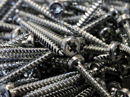 Screw, Metal, Iron, Craft, Fix, Mount, Assembly, Force