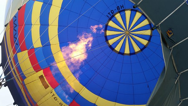 Hot Air Balloon, Balloon, Hot Air Balloon Ride, Burner