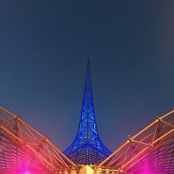 Melbourne, Spire, Arts Center, Architecture, Victoria