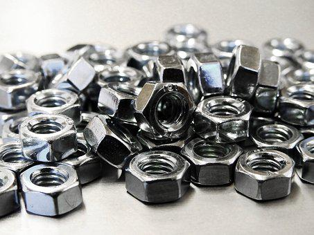 Screw, Mother, Metal, Iron, Craft, Fix, Mount, Assembly