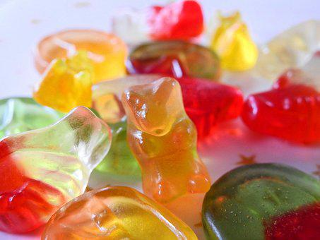 Gummibärchen, Candy, Nibble, Delicious, Colorful, Sweet
