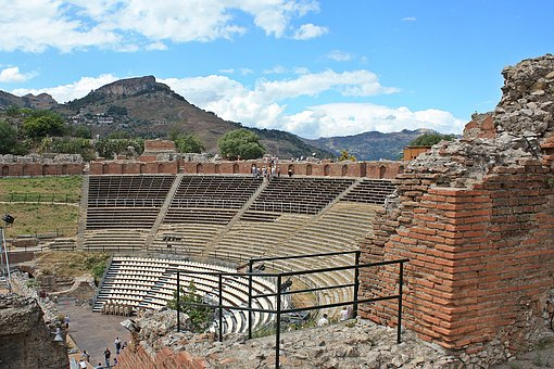 The Ruins Of The, The Ruins Of The Theater, Ancient