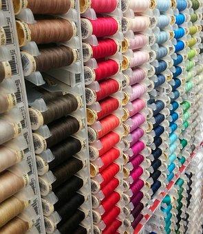 Hebadashery, Sewing, Sew, Thread, Colours