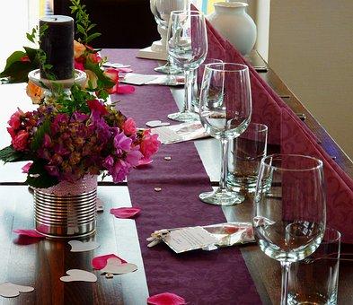 Board, Festival, Banquet Table, Celebration, Table