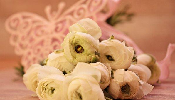 Ranunkeln, Flowers, Cheerful, Bouquet, Decorative