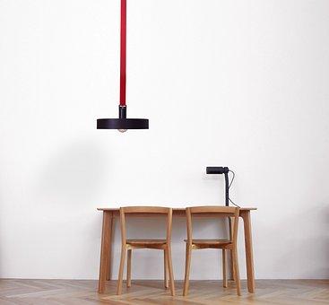 Interior Lighting, Interior Dining Table