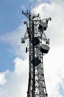 Microwave Tower, Communication, Tower, Microwave, Radio