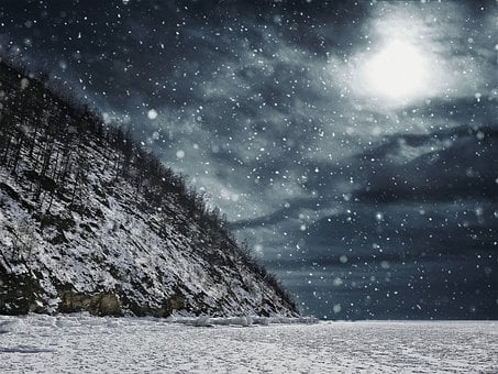 Blizzard, Winter, Cold, Wind, Flake, Snow, Snowfall