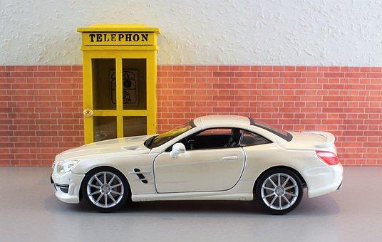 Model Car, Auto, Mercedes, Sl, Sl 65 Amg, Amg
