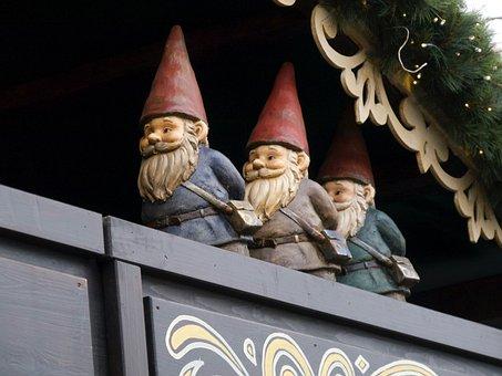 Gnomes, Christmas, Germany, Market