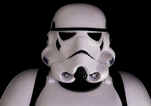Star Wars, Helmet, Costume, Man, Stormtrooper, Soldier