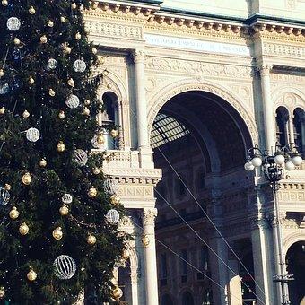 Christmas, Gallery, Piazza Duomo