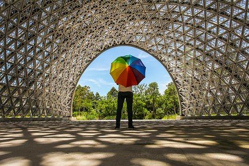 Color, Umbrella, Art, Colorful, Weather, Rain