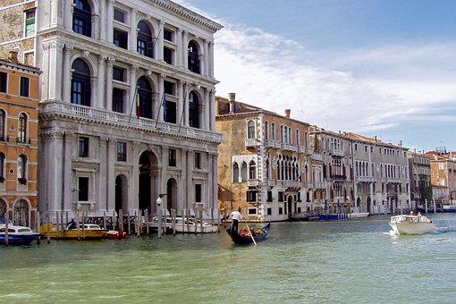Venice, Grimani Palace, Canal, Renaissance Palace