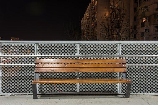 Bench, Urban, City, Park, Street, Outdoor, Sitting