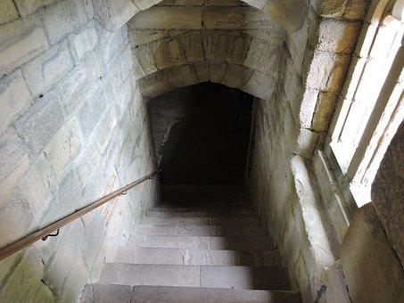 Dungeon, Door, Castle, Medieval, Dark, Doorway, Roman