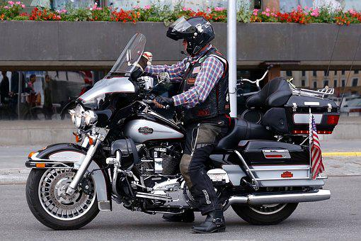 Motorcycle, Vehicles, Driver