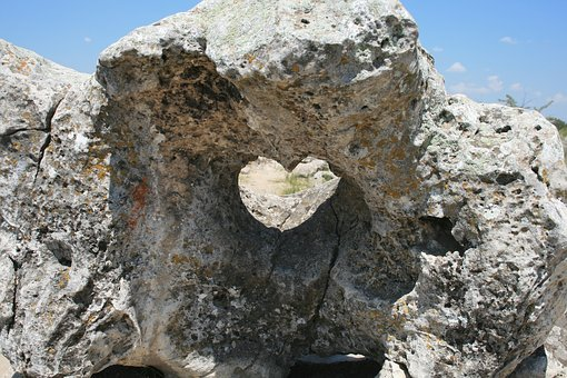 Stone, Nature, Heart, Love, Stove, Stone Patterns