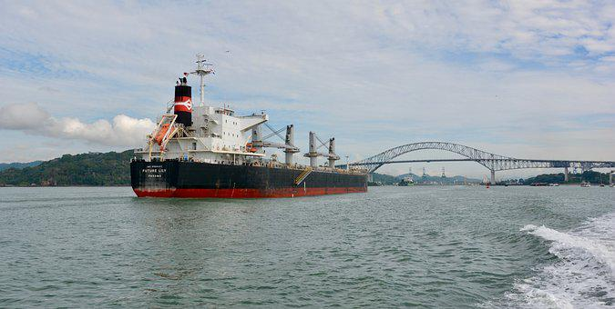 Crossing The Channel, Panama, Bridge Of The Americas