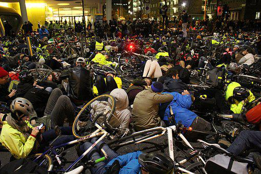 Protest, Demonstration, Stop Killing Cyclists, London
