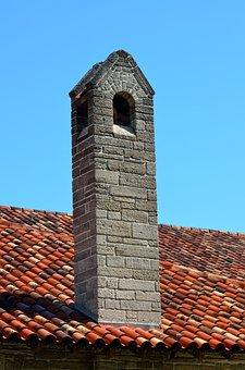 Vintage Chimney, Old, Structure, Chimney, Sky, Retro