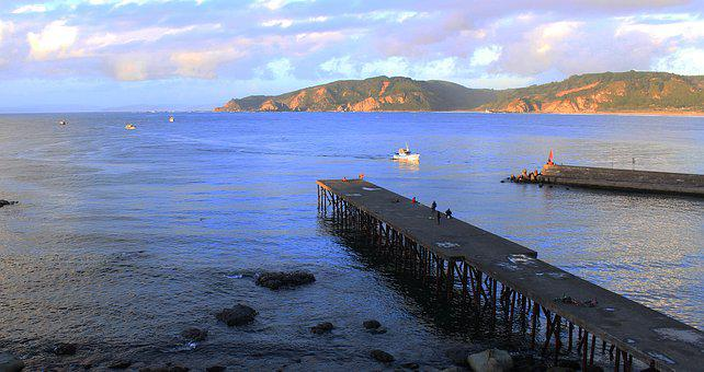 Beach, Harbor, Water, Sea, Nature, Vacation, Travel