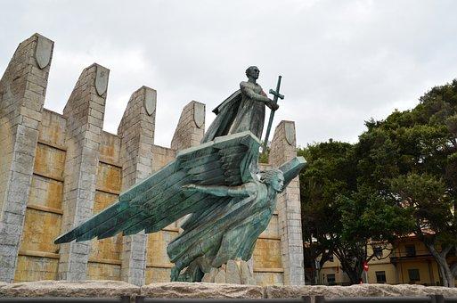 Angel, Sculpture, Figure, Faith, Symbol, Statue, Stone