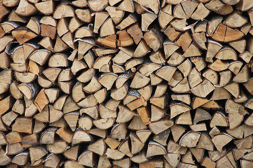 Firewood, Background, Wood, Tree, Macro Photography