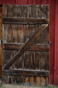 Rustic, Barn Door, Barn, Wood, Wooden, Rural, Farm