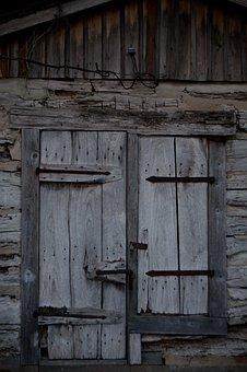 Doors, Old, Rustic, Entrance, Old Door, Wood