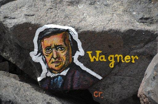 Wagner, Art, Stone, Grafiti, Artwork, Face, Head