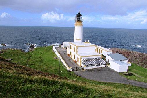 Scotland, Rubha Reidh, Lighthouse, Gairloch, Scottish