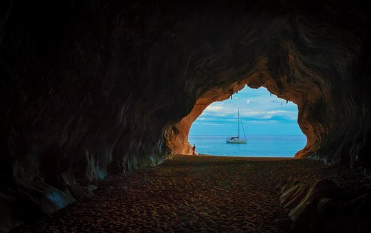 Cave, Grotto, Holiday, Sardinia, Memory, Mediterranean