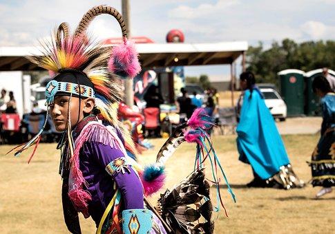 Native American Indian, Arapahoe, Pow Wow, Headdress