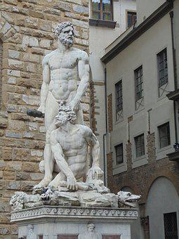 David, Statue, Florence, Michelangelo, Italy, Sculpture