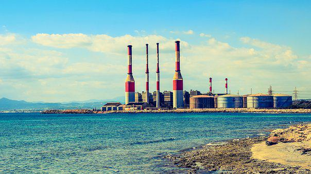 Factory, Chimneys, Plant, Power Station, Energy