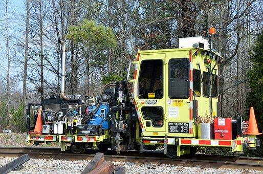 Railroad Workers, Tracks, Repair, Worker, Railroad