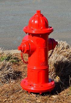 Fire Hydrant, Red, Hydrant, Safety, Emergency, Plug
