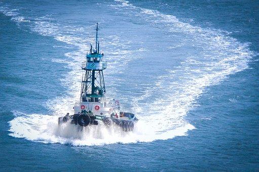 Tug Boat, San Francisco, Travel