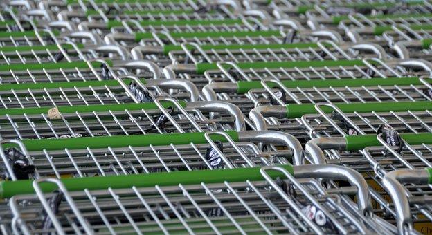 Shopping Carts, Store, Shop, Buy, Supermarket, Market