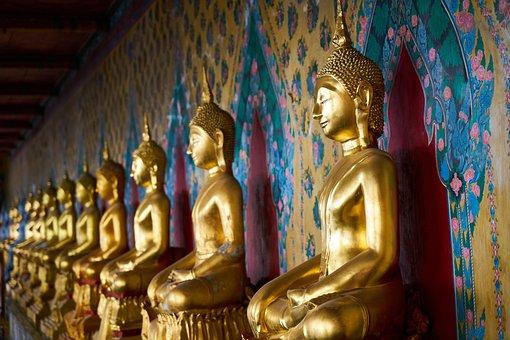 Bangkok, Thailand, Buddha, Thai Culture, Temple